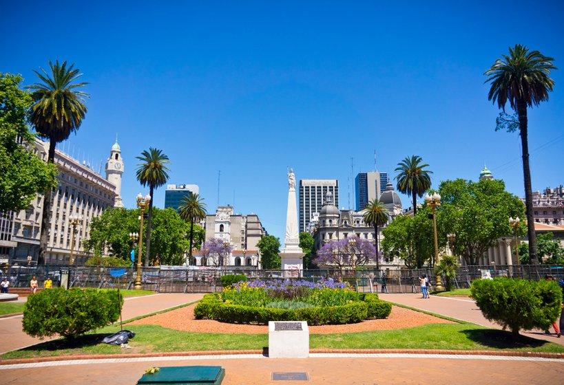 Buenos Aires Stadtplatz