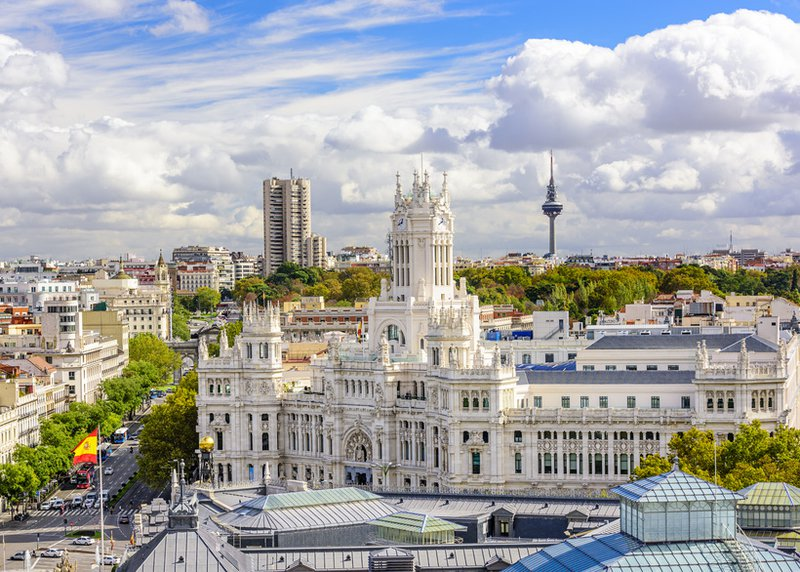 Madrid 4 Star Hotel In The City Centre To Buy Profit