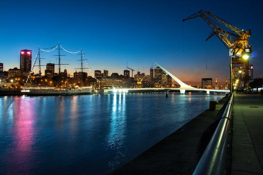 Buenos Aires bei Nacht