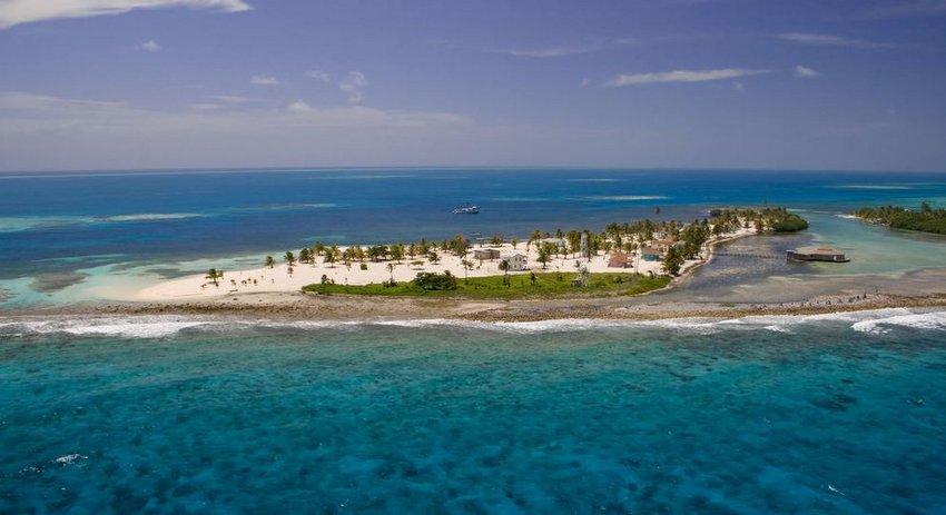 Exklusives Resort im Glovers Reef Atoll