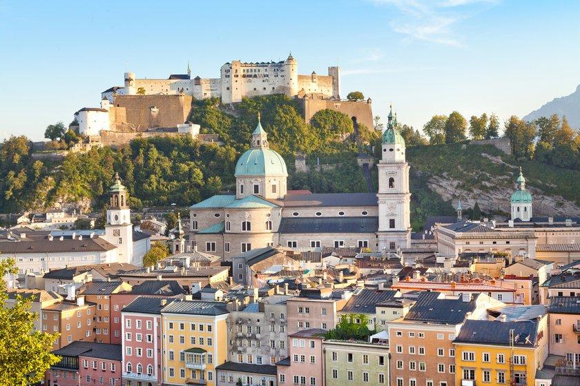Festungs Hohensalzburg und Salzburger Dom