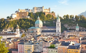 Salzburg: Hotel-project in panoramic city location to buy