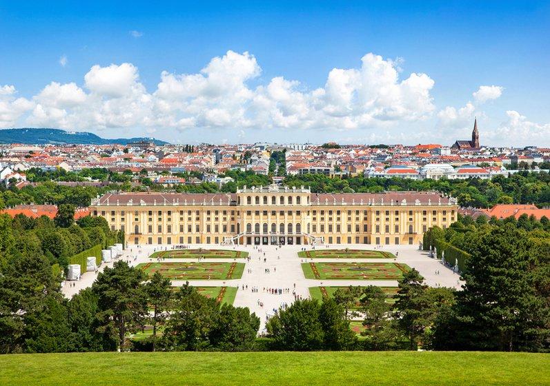 Schönbrunn - Royal court of Vienna, home of the Habsburg Family