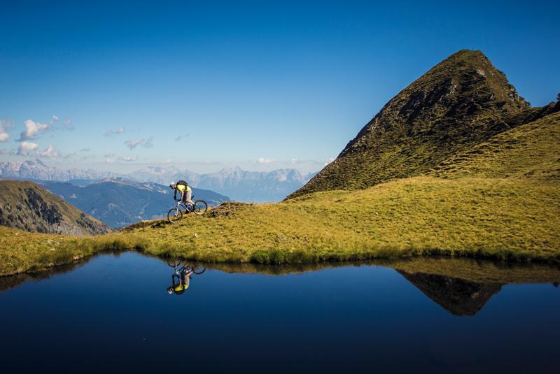 Biken am Kitzsteinhorn - © Zell am See-Kaprun Tourismus - http://zellamsee-kaprun.com