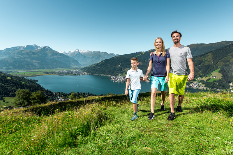 Wandern - © Zell am See-Kaprun Tourismus - http://zellamsee-kaprun.com