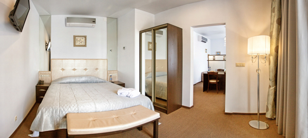Hotel room panorama picture