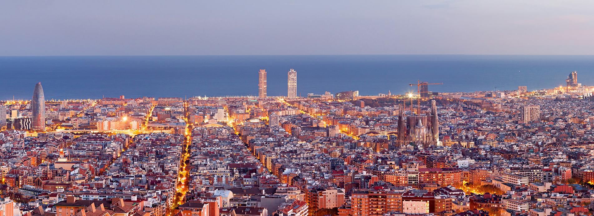 Barcelona - Ansicht von oben